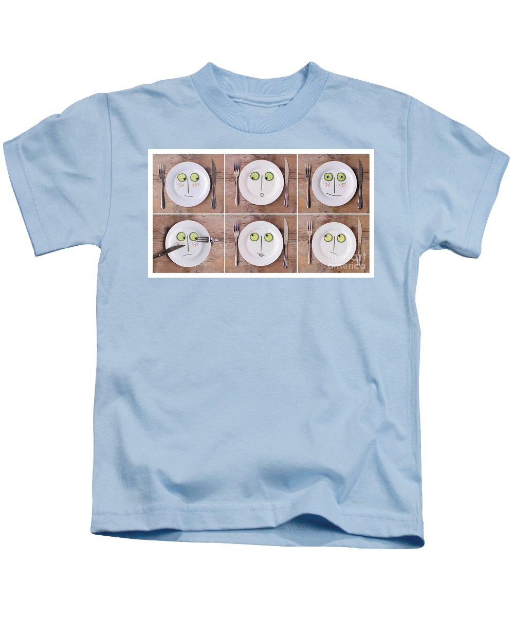 Aromatic Kids T-Shirt featuring the photograph Emotions 02 by Nailia Schwarz