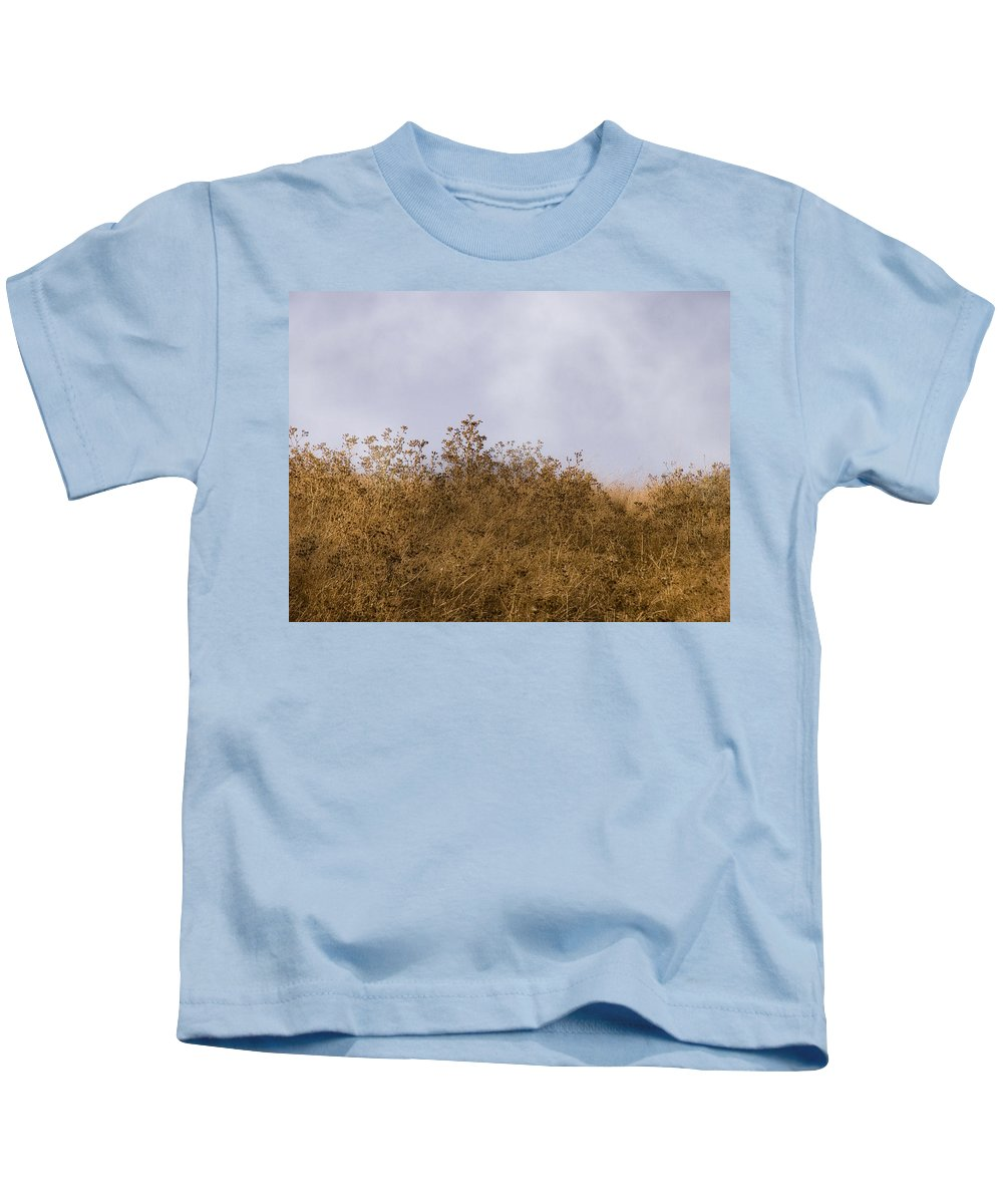 Landscape Kids T-Shirt featuring the photograph Fairmont Ridge by Karen W Meyer