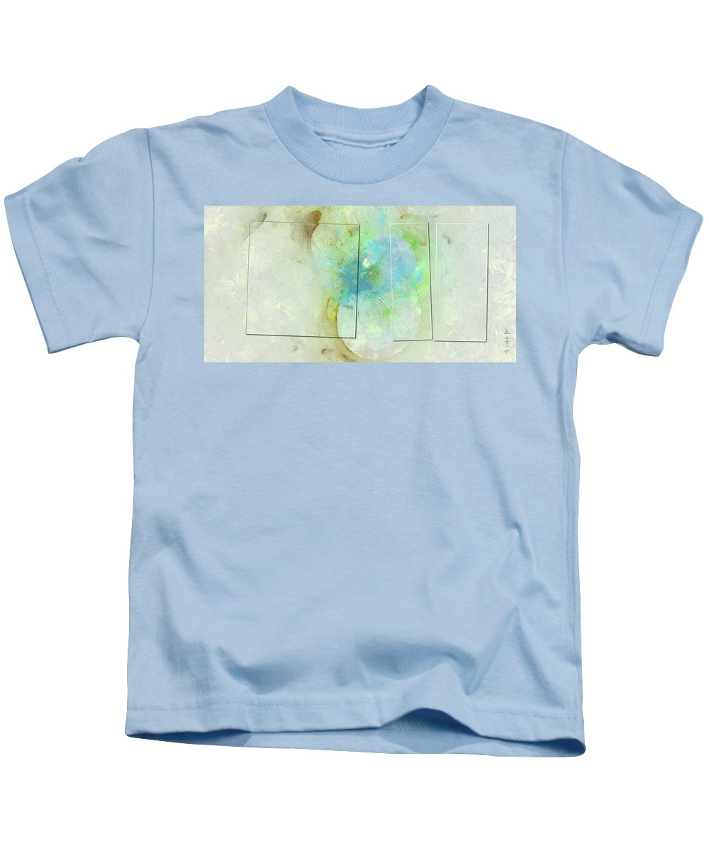 Unreal Kids T-Shirt featuring the painting Fawn Distribution Id 16099-034027-14421 by S Lurk