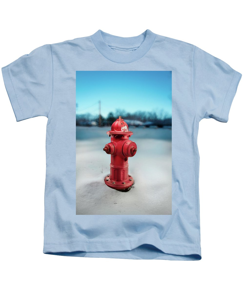 Exterior Kids T-Shirt featuring the photograph Fire Hydrant by Yo Pedro