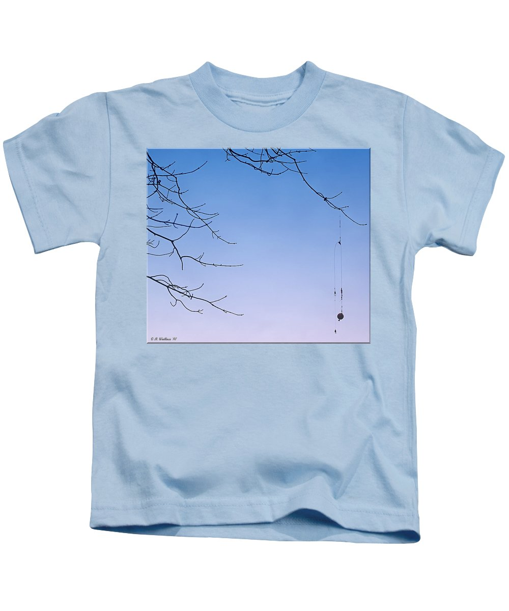 2d Kids T-Shirt featuring the photograph Fisherman's Trap by Brian Wallace