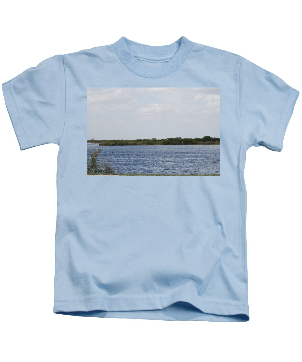 Water Kids T-Shirt featuring the photograph Fla Everglades by Rob Hans