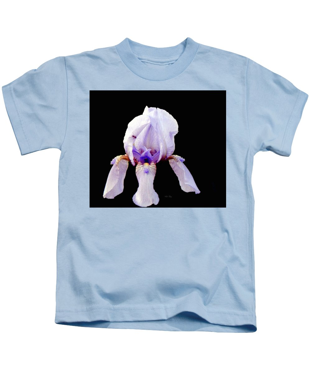 Spring Kids T-Shirt featuring the photograph Fleur De Lis by Wild Thing