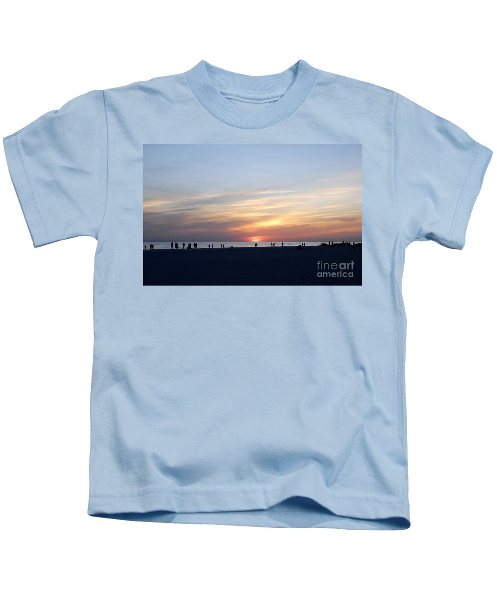 Florida Kids T-Shirt featuring the photograph Florida Sunset by David Lee Thompson