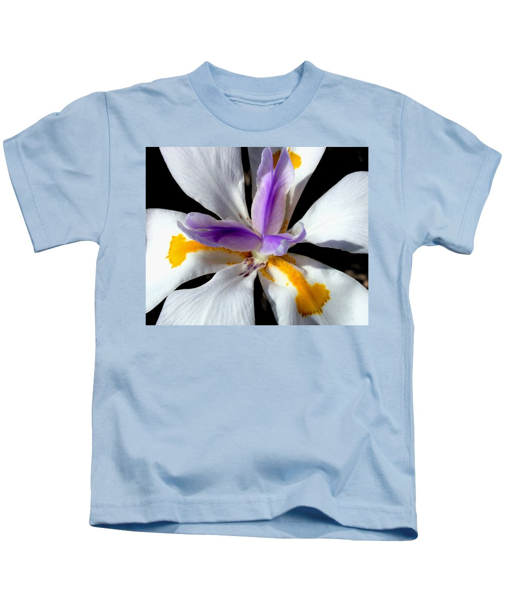 Flowers Kids T-Shirt featuring the photograph Flower by Anthony Jones