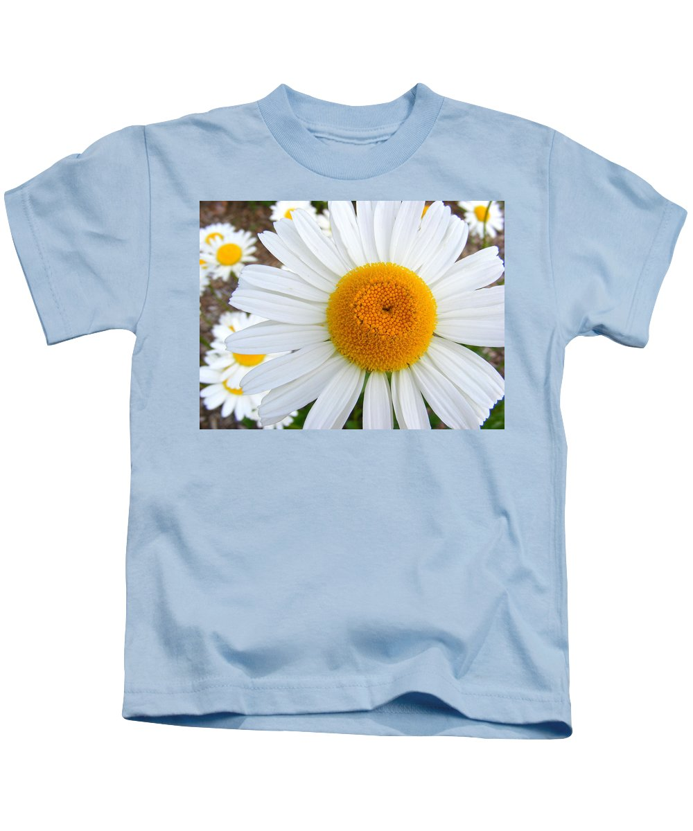 Flower Kids T-Shirt featuring the photograph Fried Eggs by Ed Smith