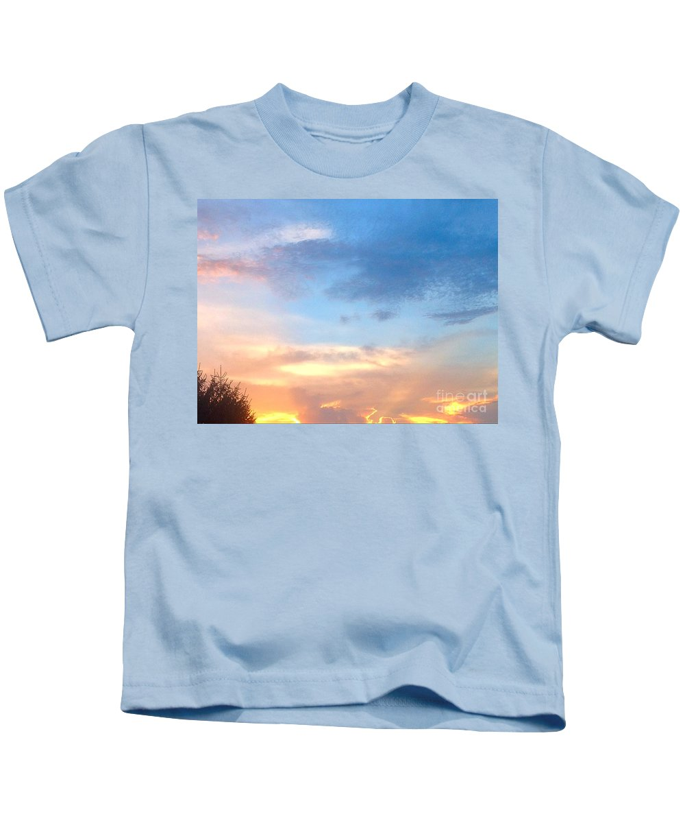Tree Kids T-Shirt featuring the photograph From Here To Eternity by Debra Lynch