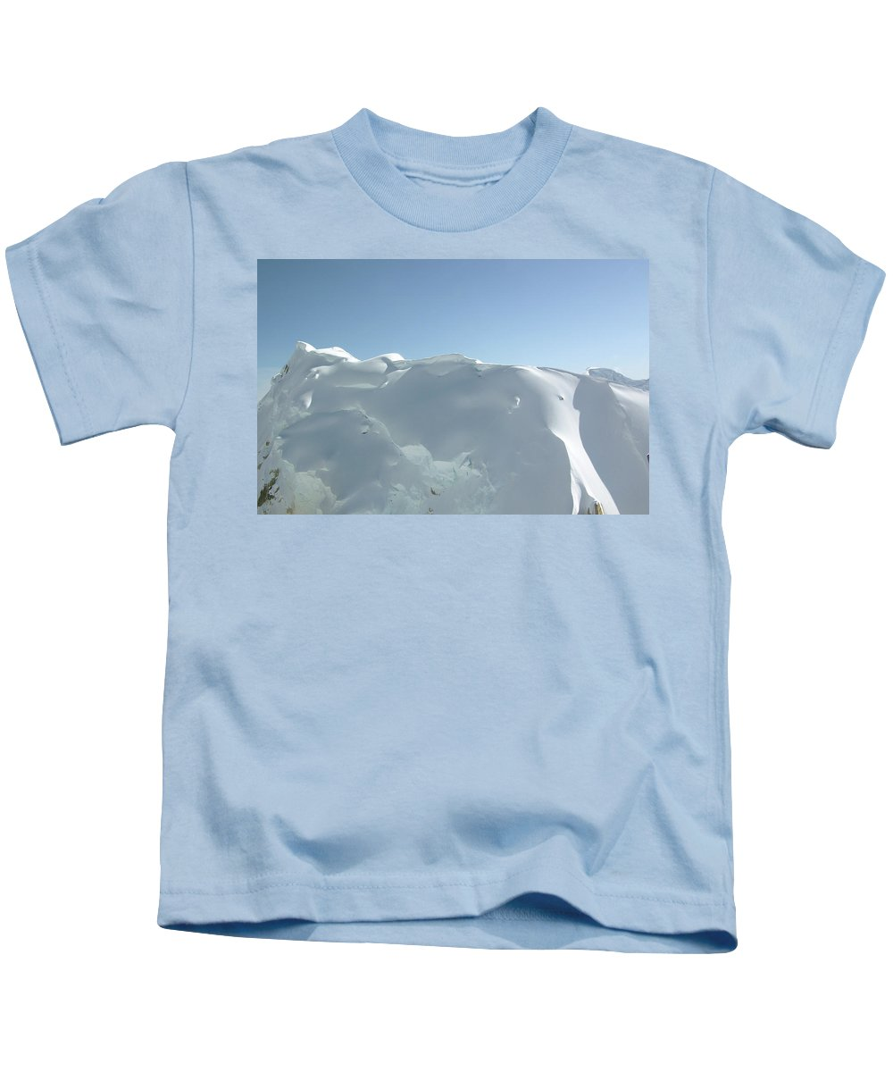 Denali Kids T-Shirt featuring the photograph Frothy Pristine by Timothy Manning