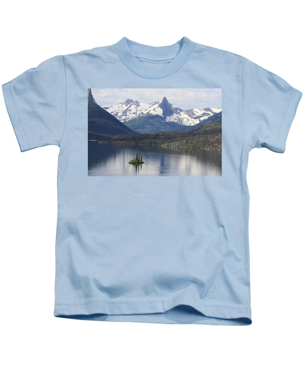 Kids T-Shirt featuring the photograph Goose Island by Michael Cressy