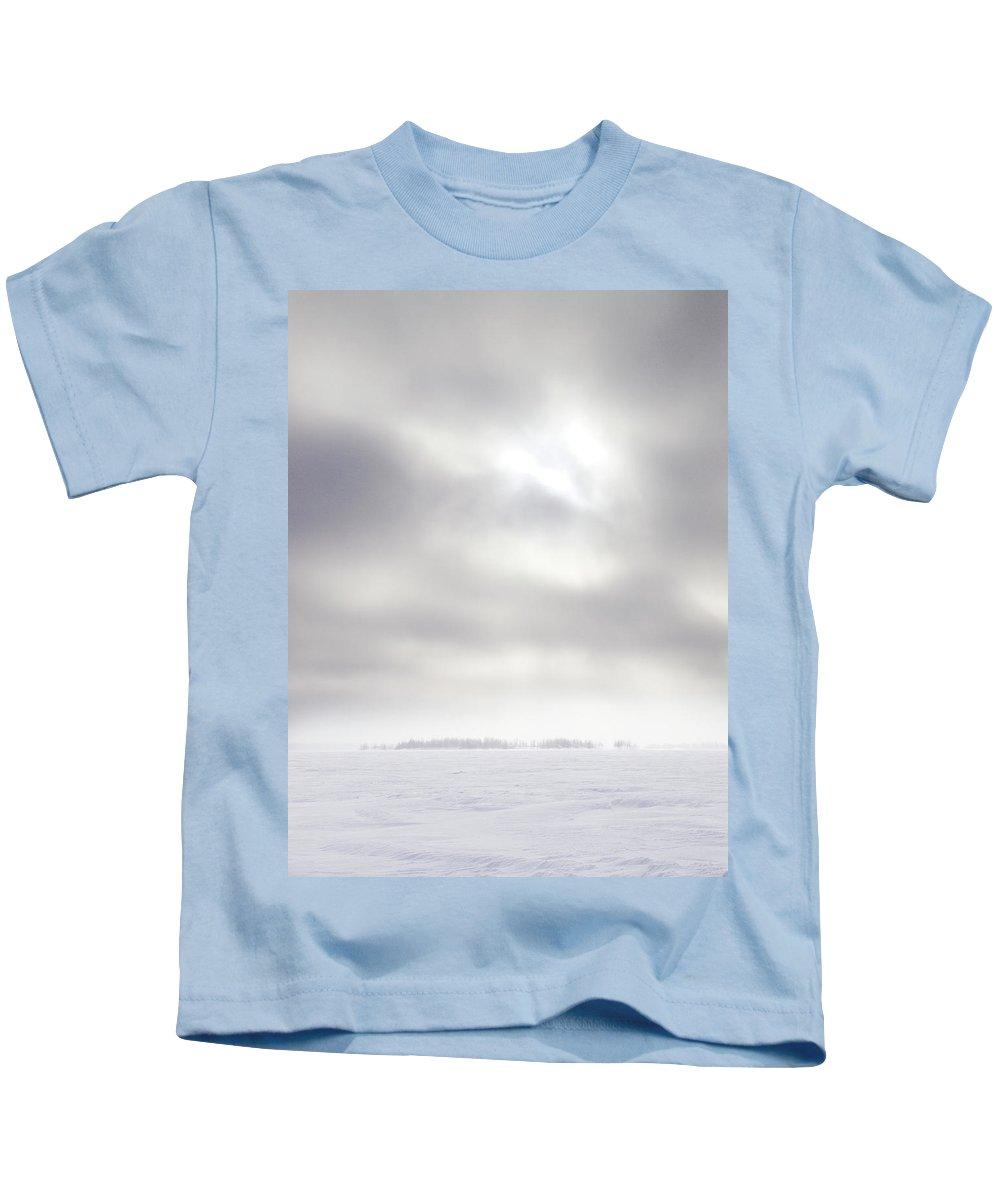 Lehtokukka Kids T-Shirt featuring the photograph Gulf Of Bothnia Variations Nr 19 by Jouko Lehto