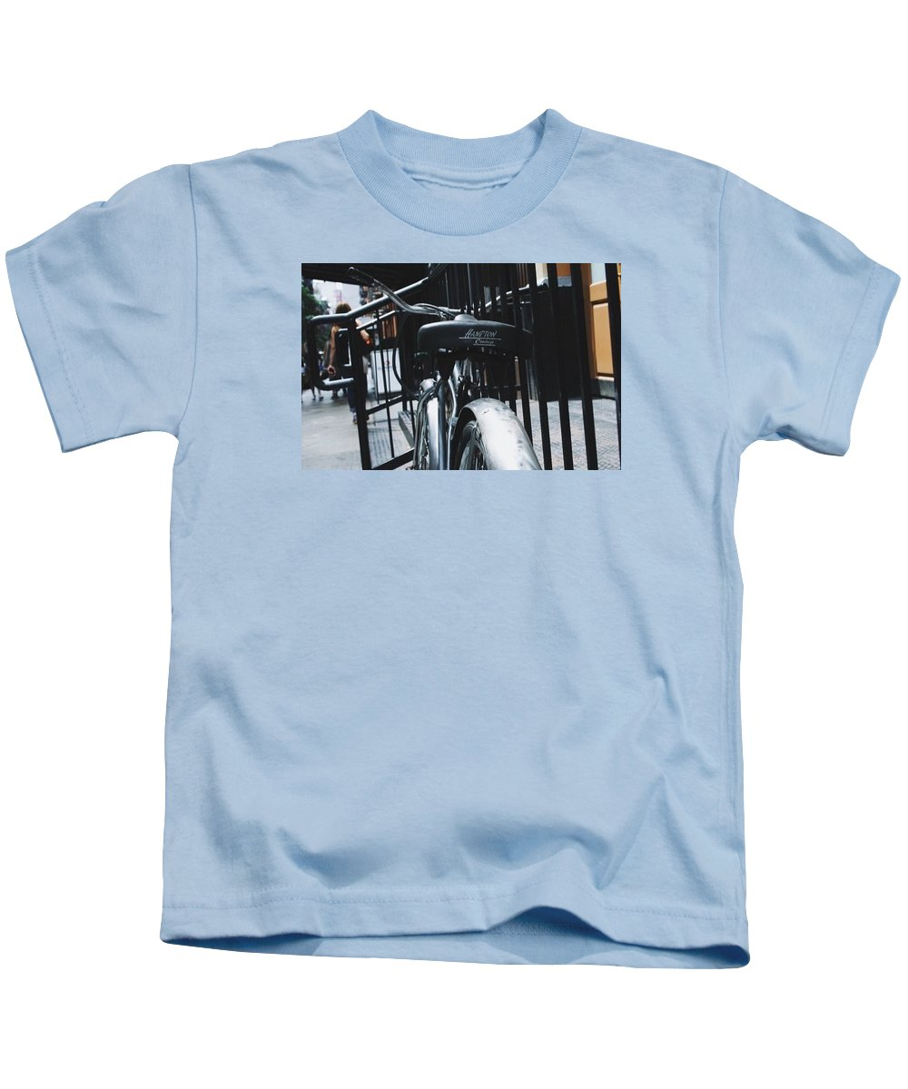 Urban Kids T-Shirt featuring the photograph Hampton Cruise by Sydney Mark