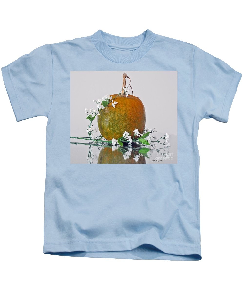 Photography Kids T-Shirt featuring the photograph Harvest by Shelley Jones