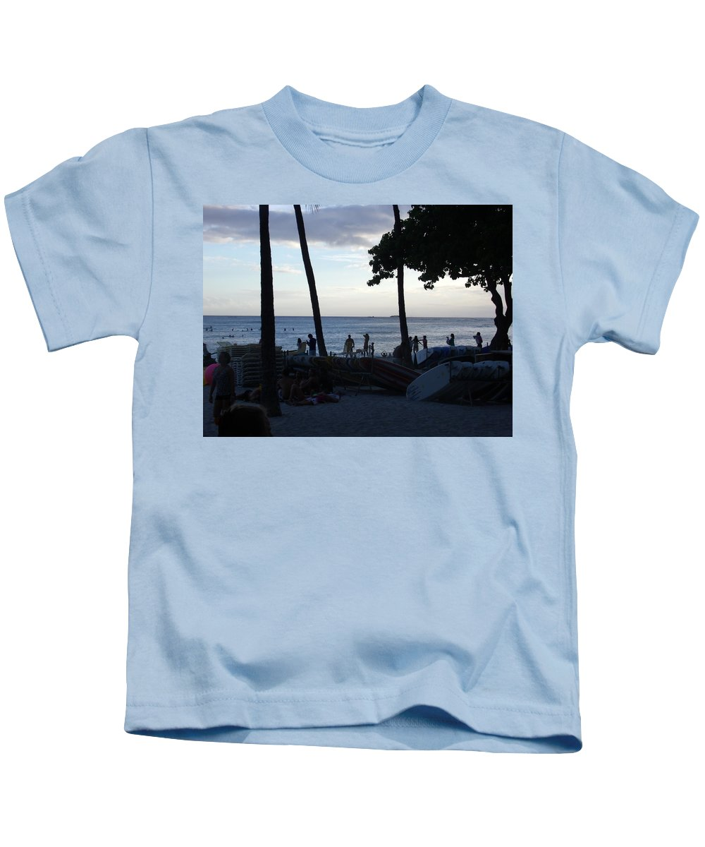 Hawaii Kids T-Shirt featuring the photograph Hawaiian Afternoon by Daniel Sauceda