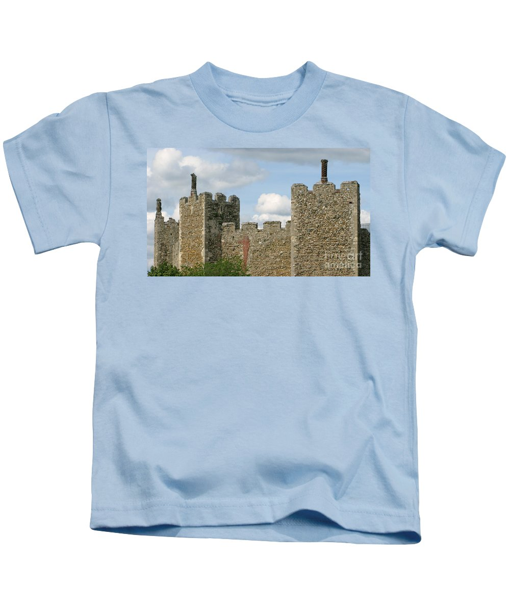 Castle Kids T-Shirt featuring the photograph Historic Castle by Ann Horn