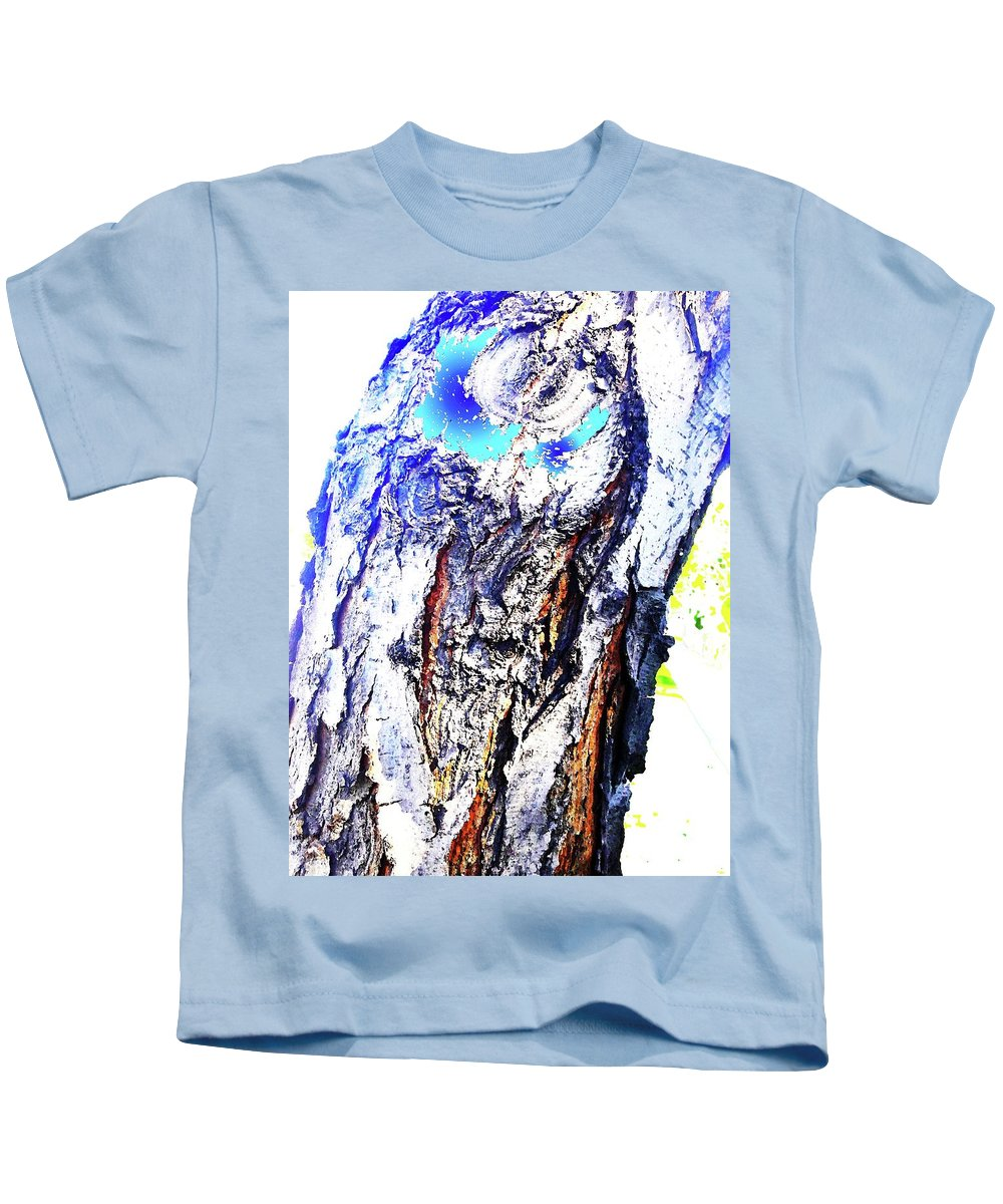 Holy Kids T-Shirt featuring the digital art Holy Man by Ronald Irwin
