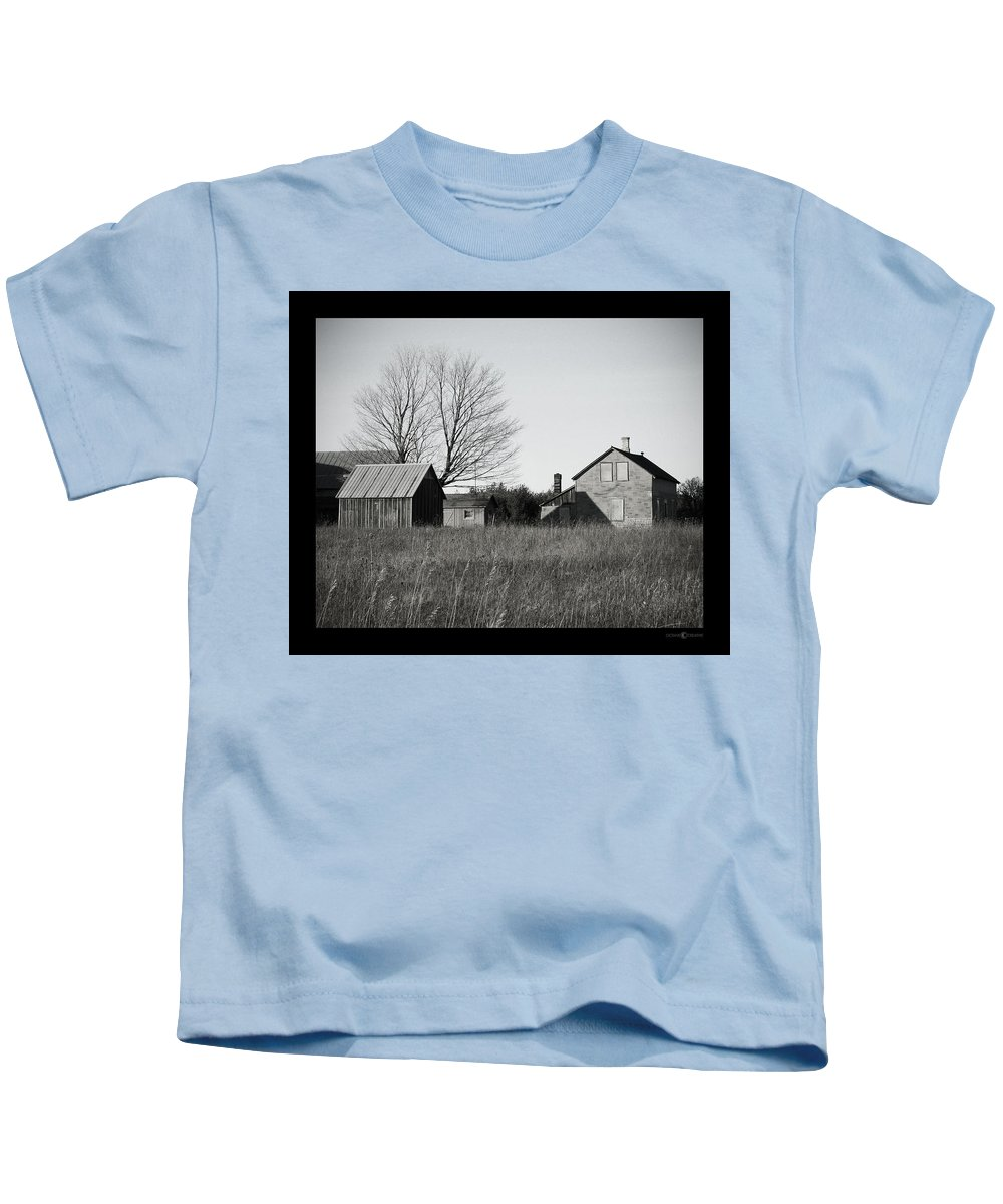 Deserted Kids T-Shirt featuring the photograph Homestead by Tim Nyberg