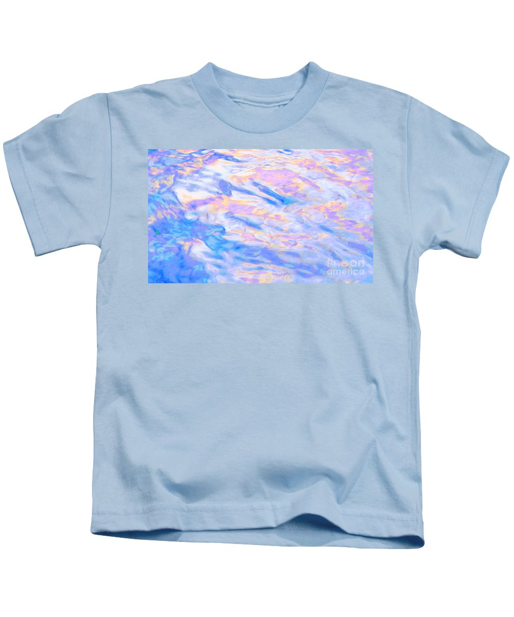 Abstract Kids T-Shirt featuring the photograph Humility by Sybil Staples