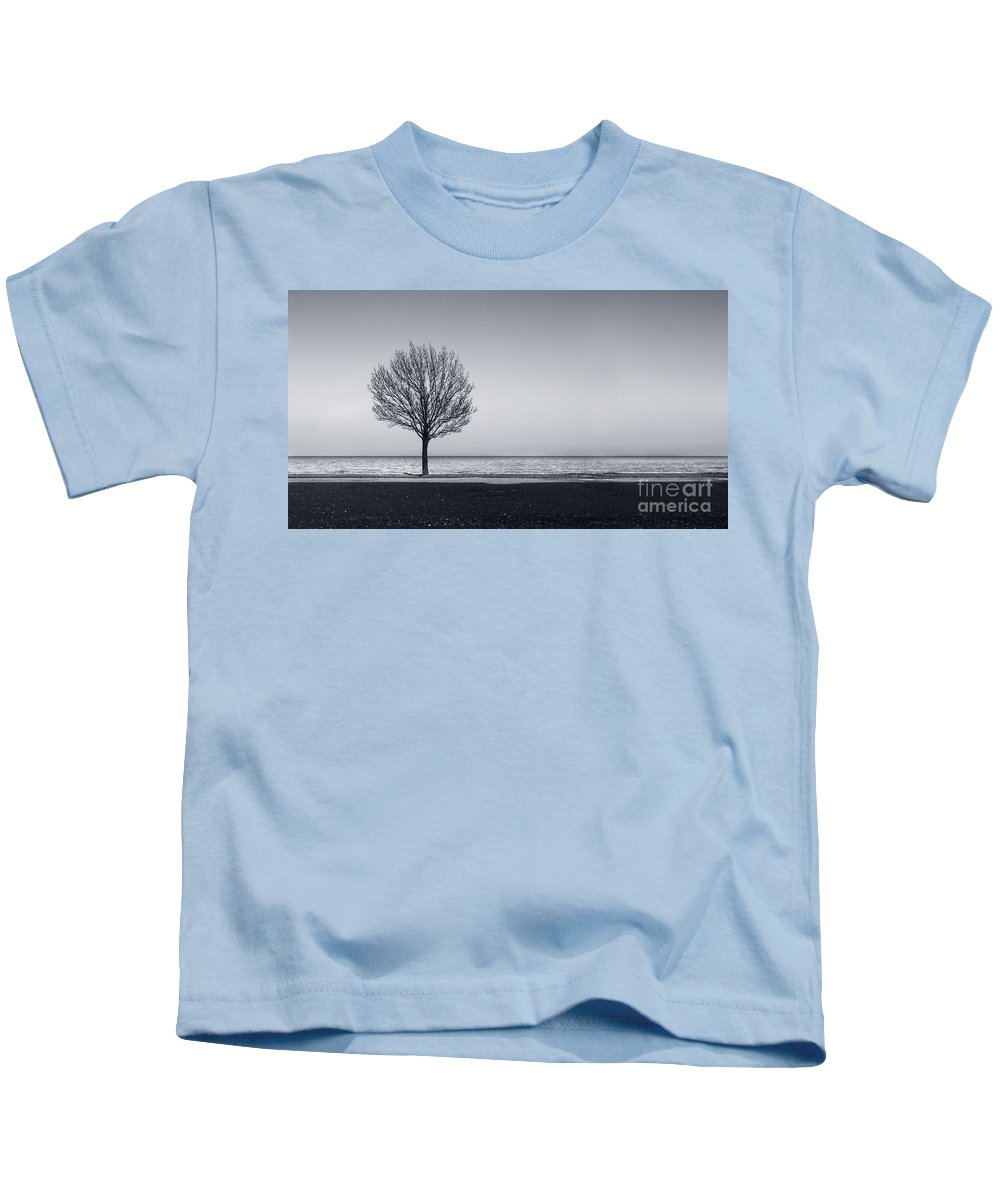 Tree Kids T-Shirt featuring the photograph I Didnt Hear You Leaving by Dana DiPasquale