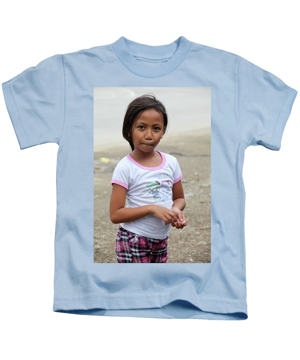 Mati Kids T-Shirt featuring the photograph I Won't Know Ever by Jez C Self