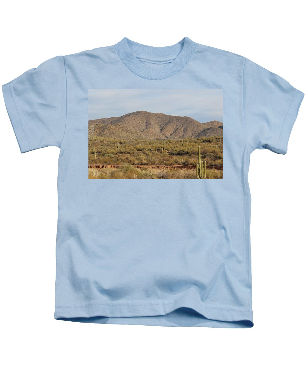 Landscape Kids T-Shirt featuring the photograph In Natural Form by David Dowlen