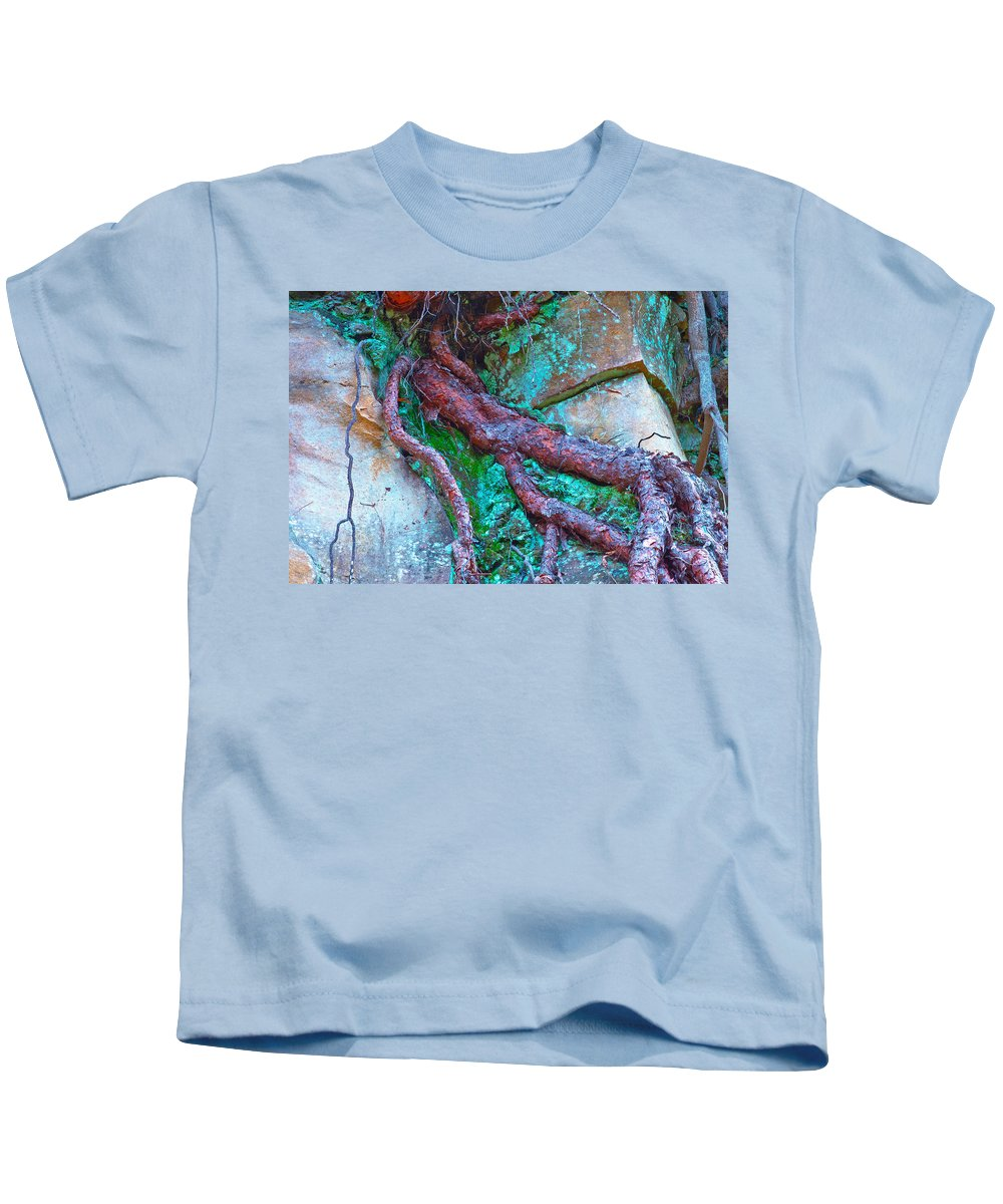 Canary Kids T-Shirt featuring the photograph Insinuation by Jean-luc Bohin