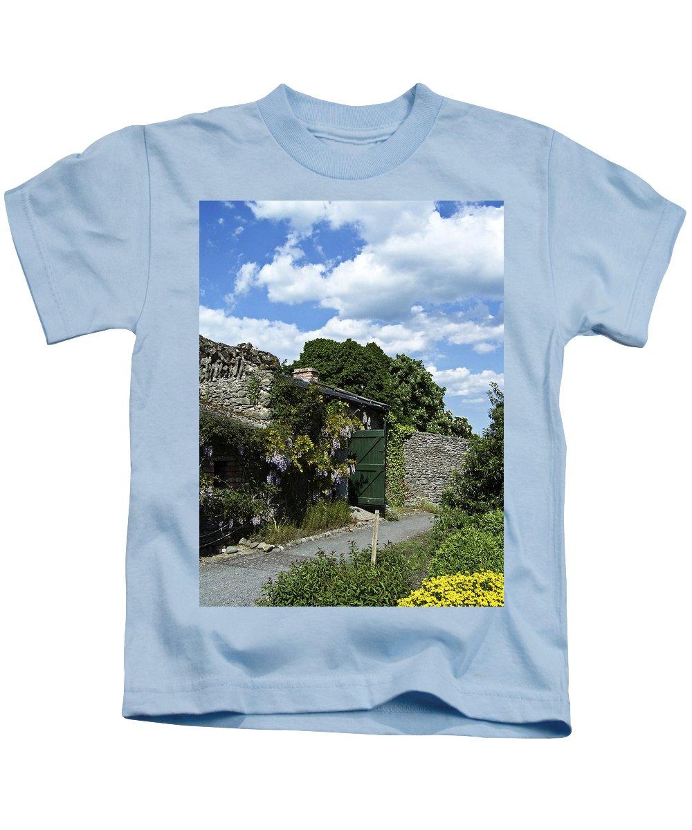 Irish Kids T-Shirt featuring the photograph Irish Garden County Clare by Teresa Mucha