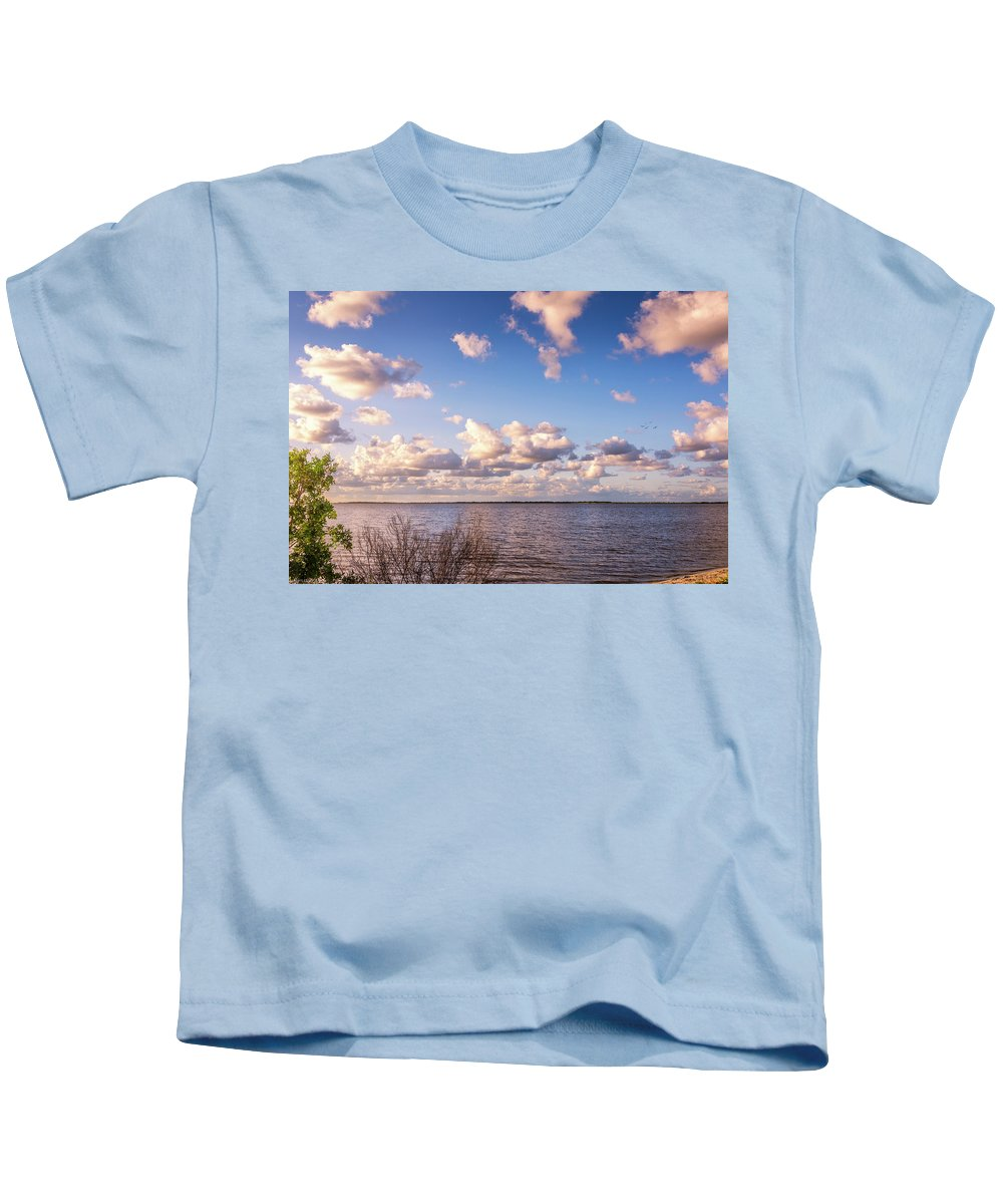 Florida Kids T-Shirt featuring the photograph It's A Beautiful Day by Louise Hill