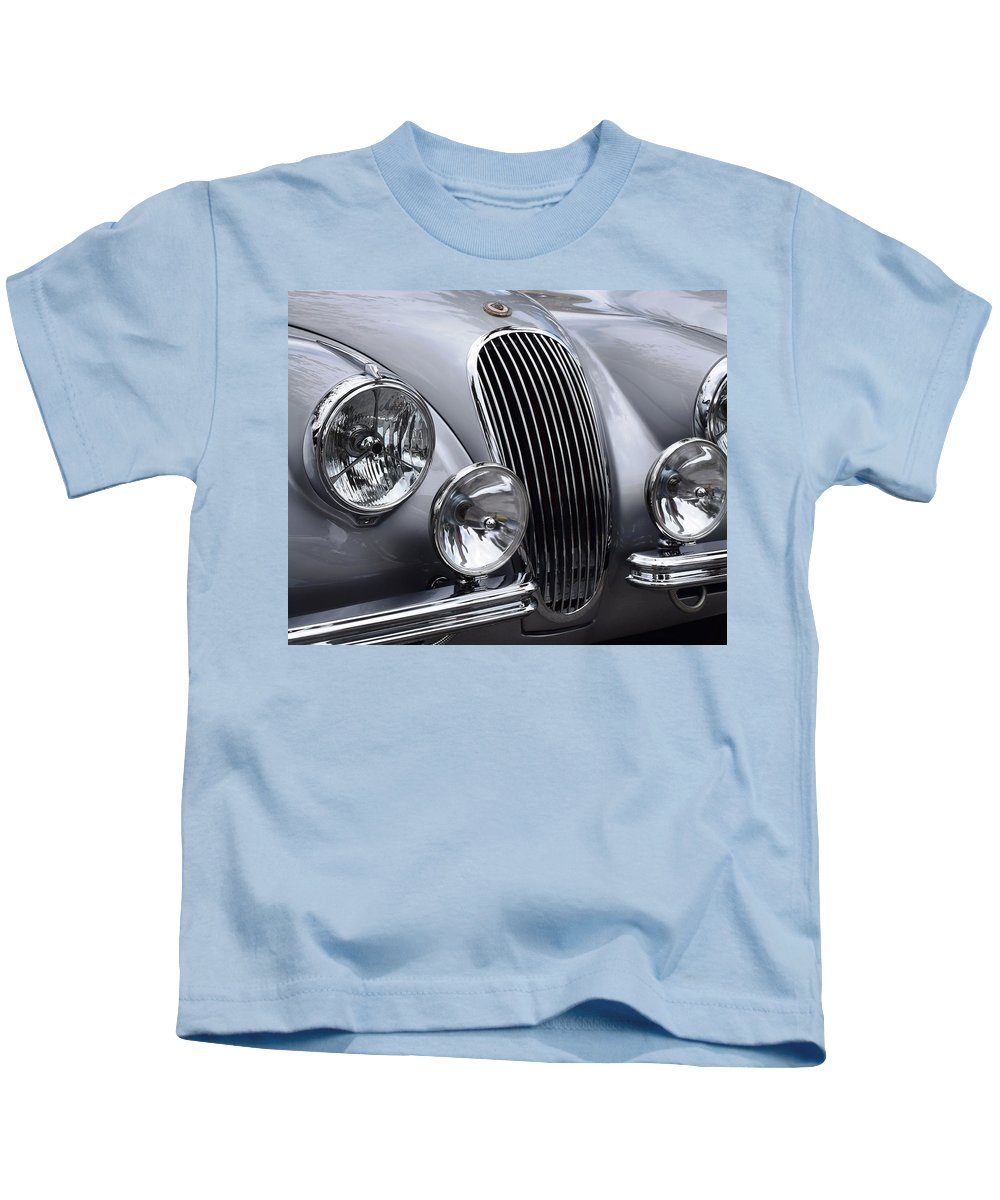 Jaguar Kids T-Shirt featuring the photograph Jag by Recluse Road