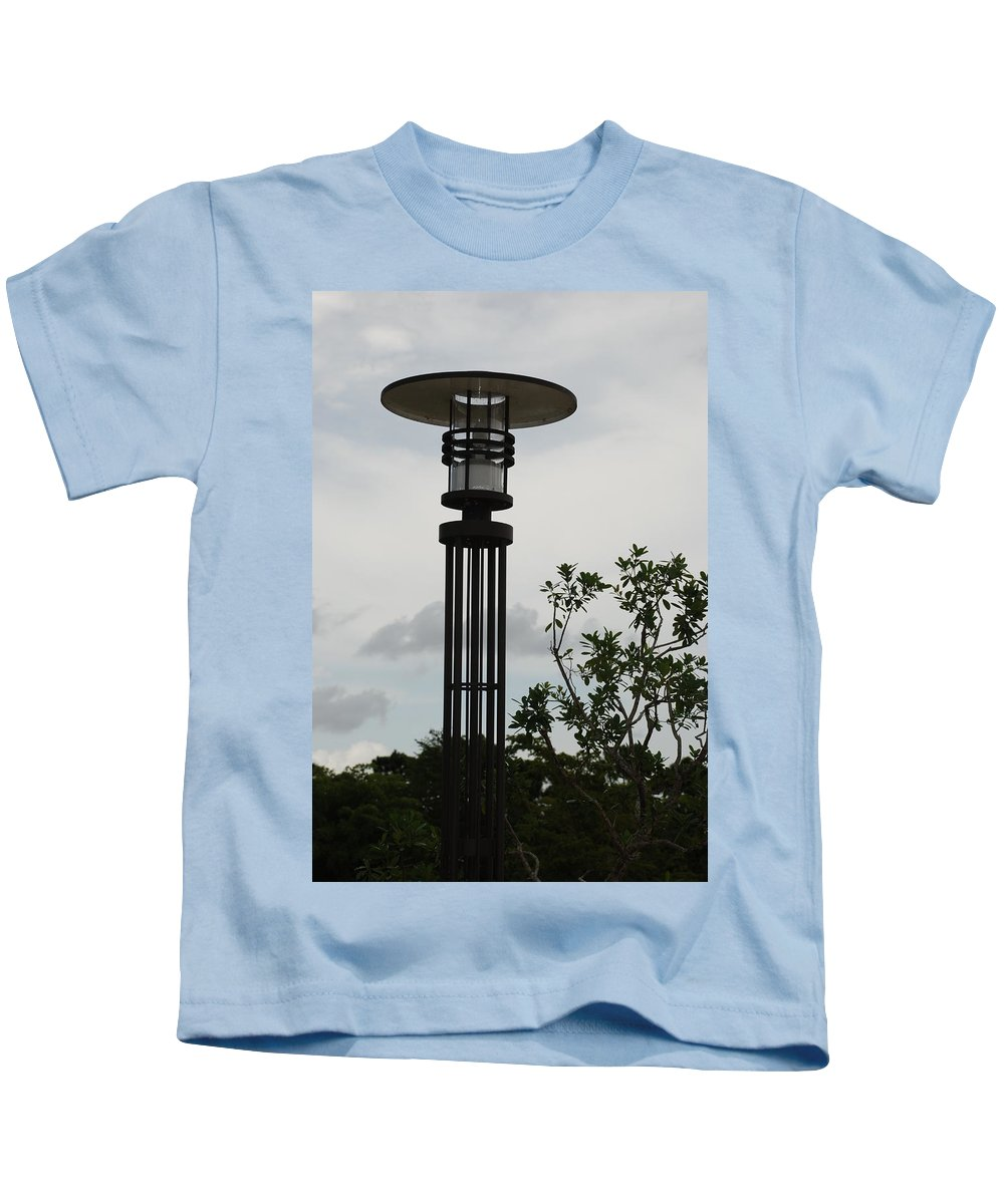 Street Lamp Kids T-Shirt featuring the photograph Japanese Street Lamp by Rob Hans