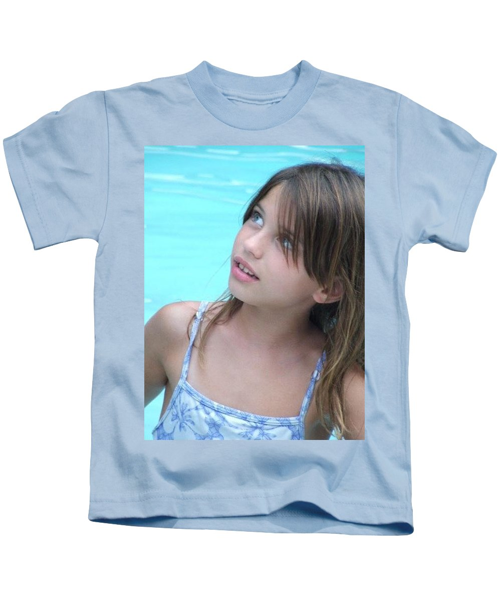 Kids T-Shirt featuring the photograph Julz by Michelle S White