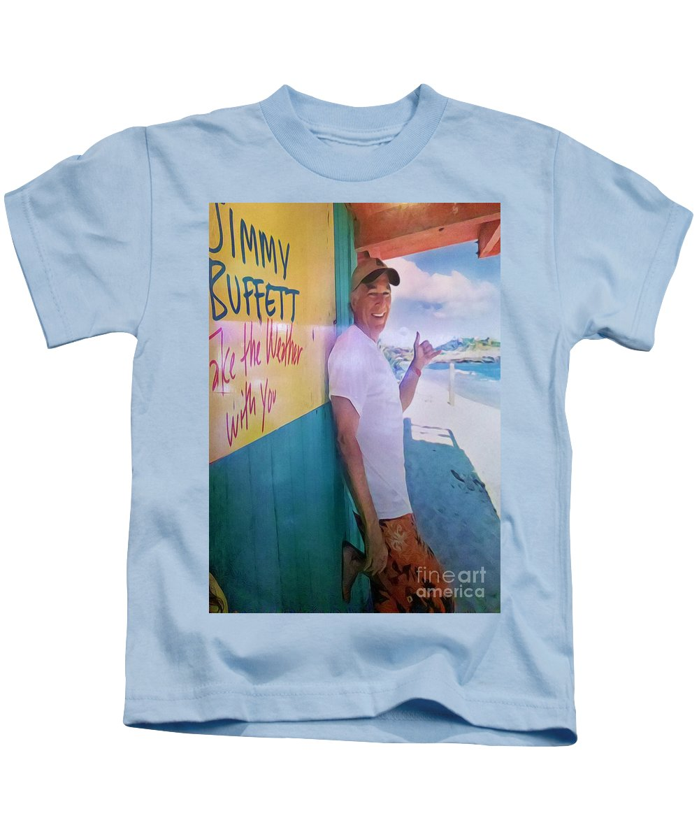 Jimmy Buffett Kids T-Shirt featuring the photograph Key West Illusion by Jennifer Boisvert