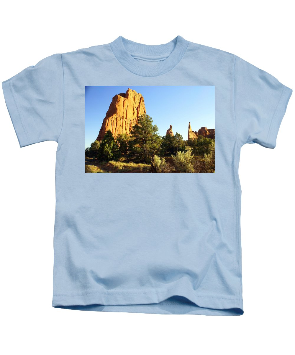 Utah Kids T-Shirt featuring the photograph Kodachrome Basin I by Marty Koch