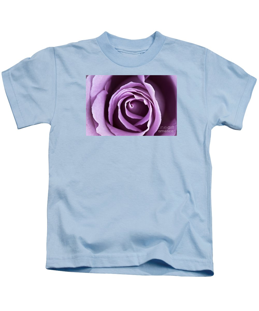 Rose Kids T-Shirt featuring the photograph Lavender Rose by Douglas Kikendall