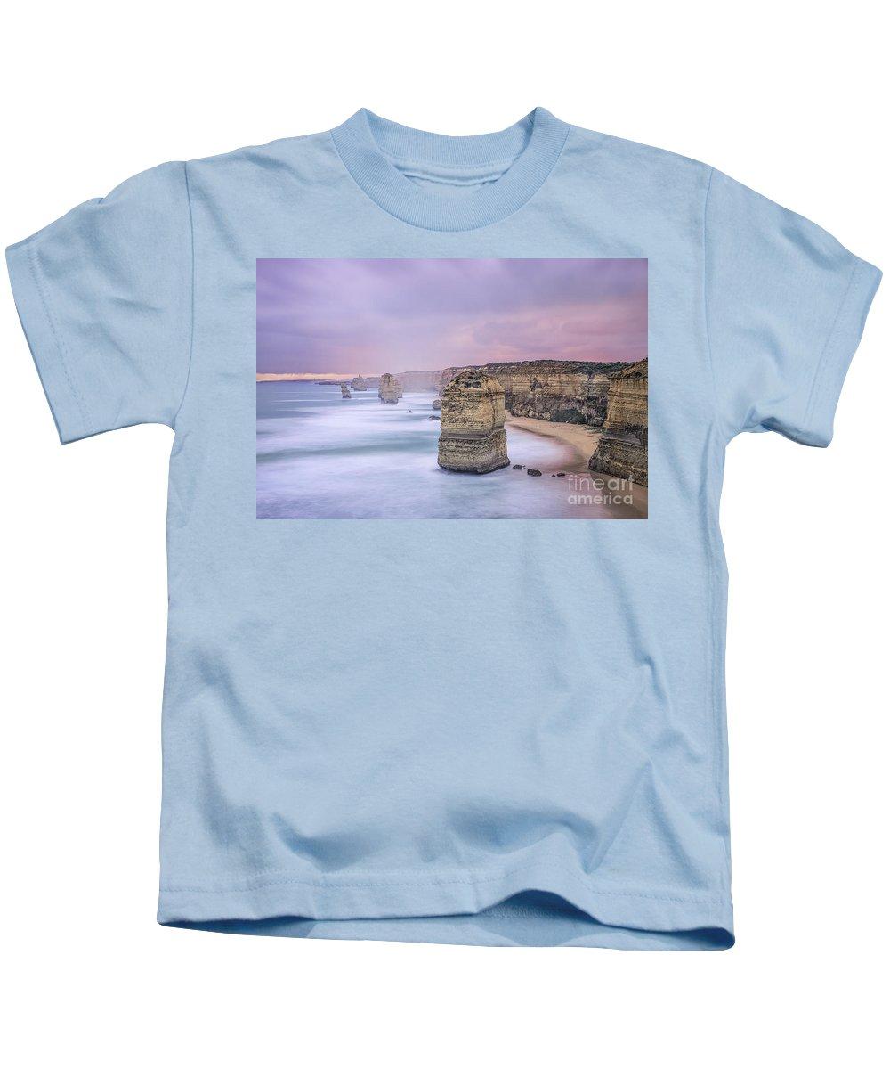 Kremsdorf Kids T-Shirt featuring the photograph Left In A Dream by Evelina Kremsdorf