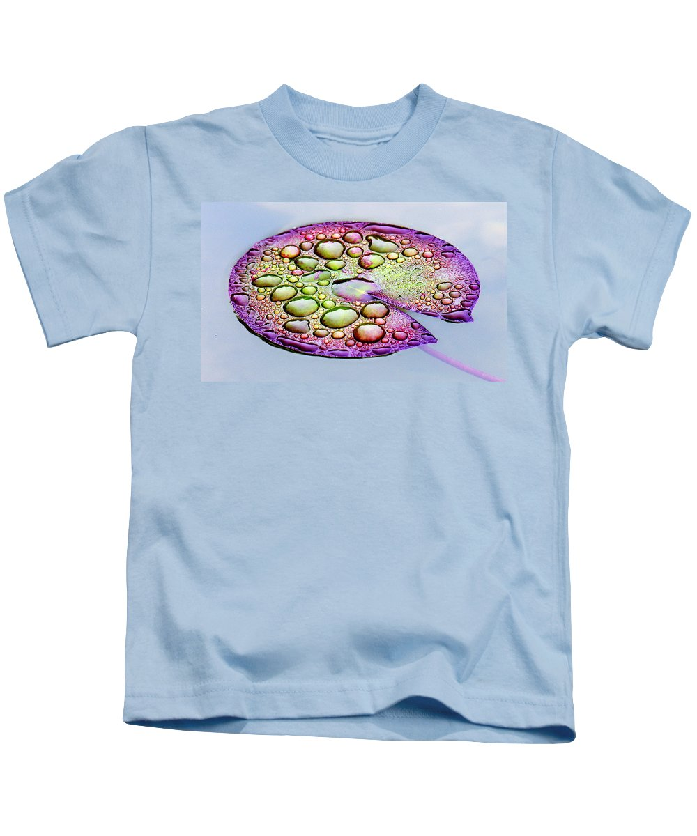 Lillypad Kids T-Shirt featuring the digital art Lillypad by Robert Meanor