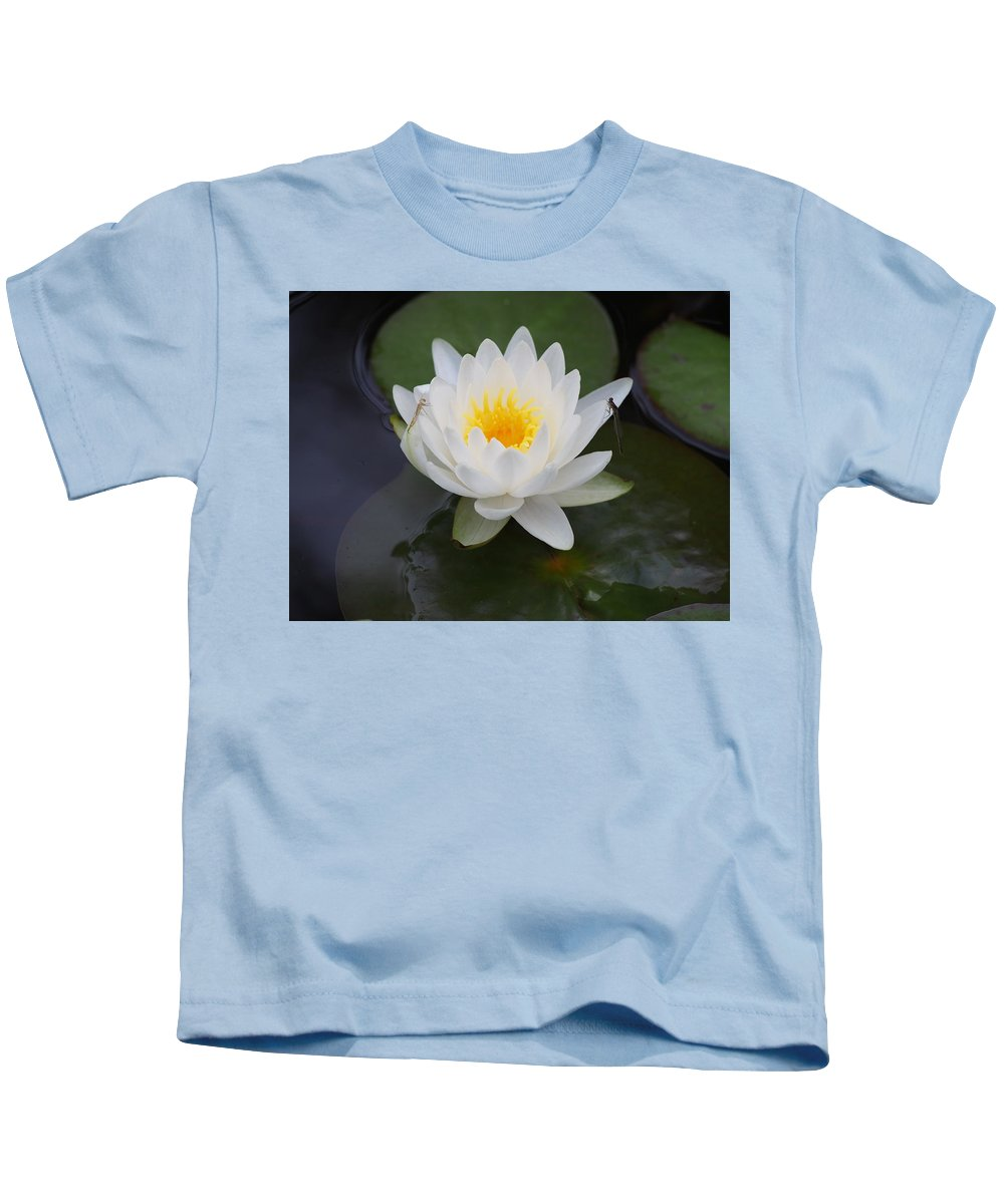 Lilies Kids T-Shirt featuring the photograph Lily At North Carolina Botanical Garden by Thomas Wojnar