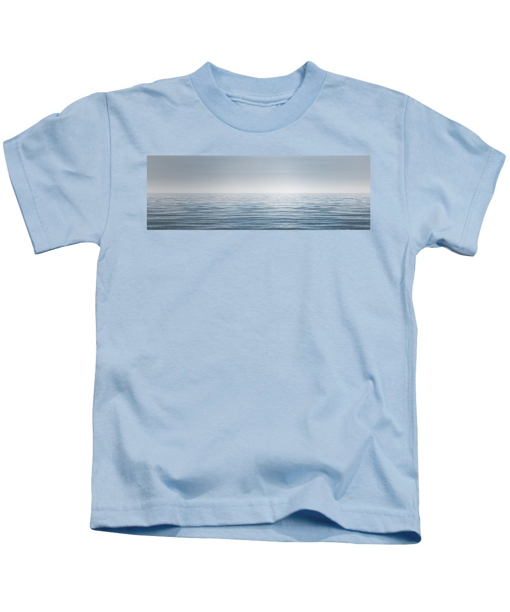 Water Kids T-Shirt featuring the photograph Limitless by Scott Norris