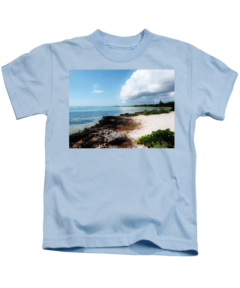 Amar Sheow Fine Art Photography Kids T-Shirt featuring the photograph Looking Back by Amar Sheow