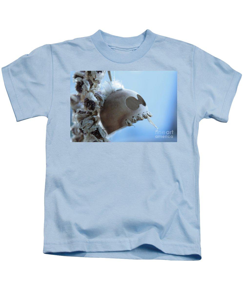 Aloha Kids T-Shirt featuring the photograph Makakii Ikaika Makani by Sharon Mau