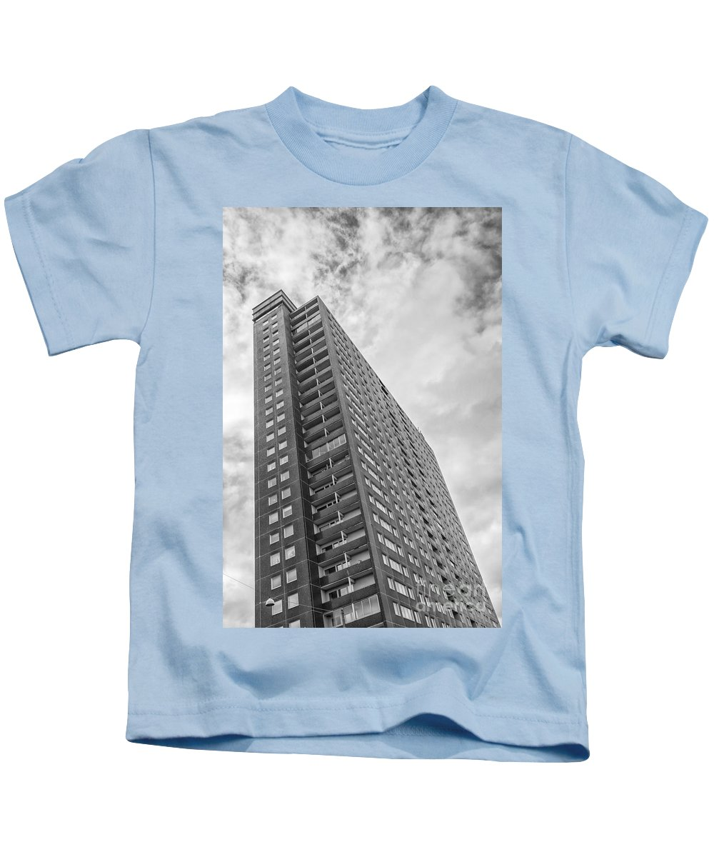 Black Kids T-Shirt featuring the photograph Malmo High Rise by Antony McAulay