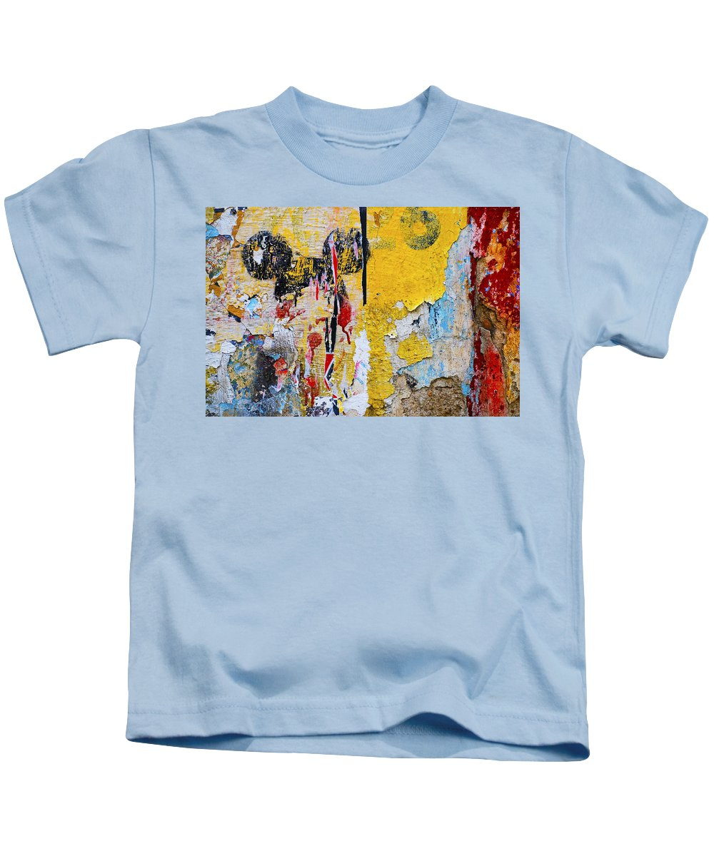 Mickey Mouse Kids T-Shirt featuring the photograph Mickeys Nightmare by Skip Hunt