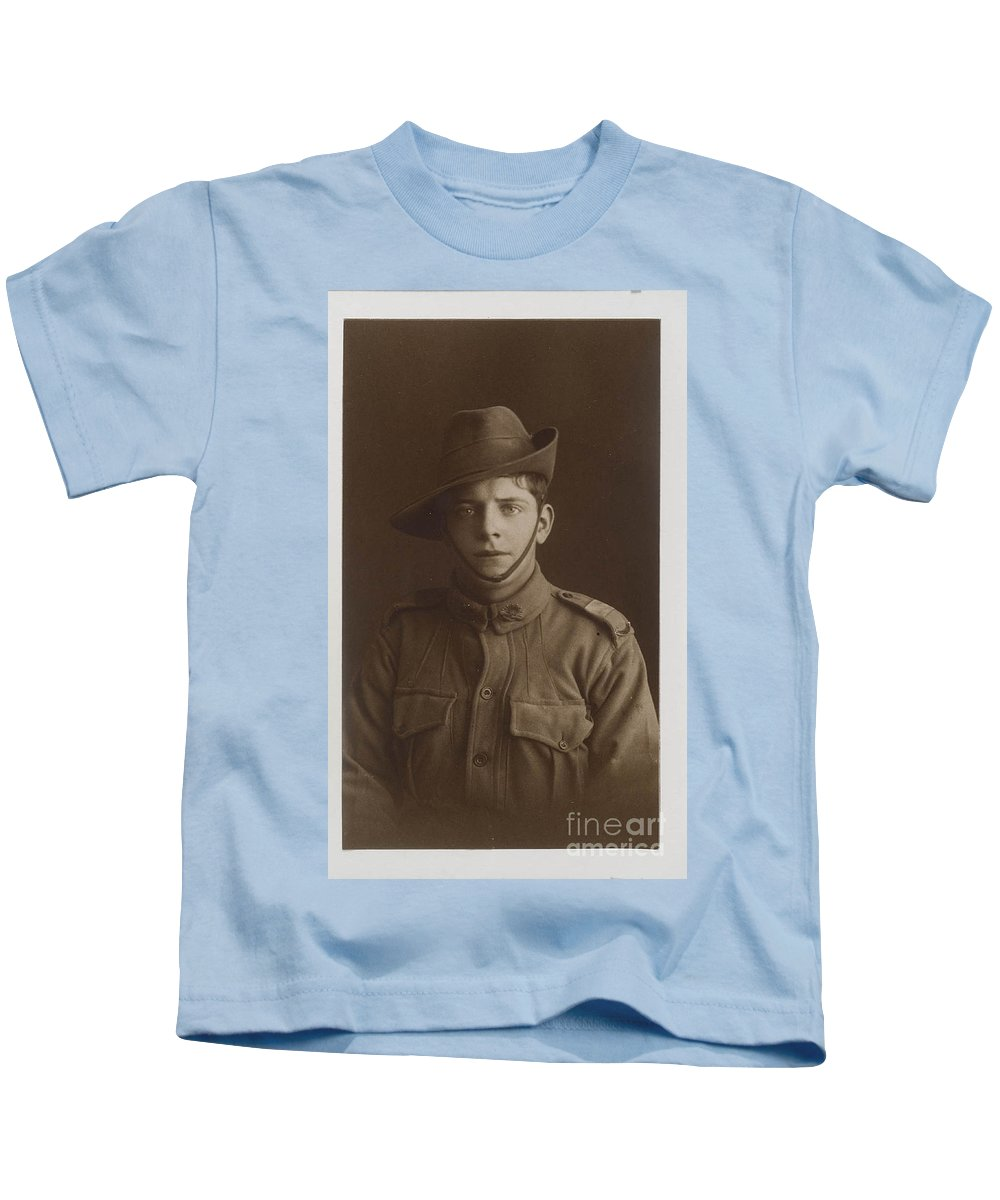Henry William Mier Kids T-Shirt featuring the painting Mier by MotionAge Designs