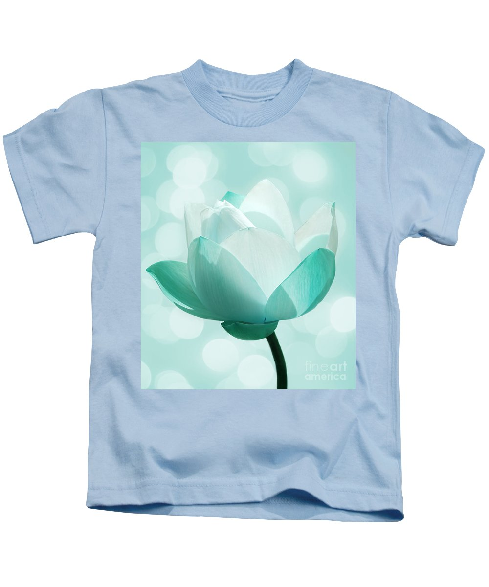 Lotus Kids T-Shirt featuring the photograph Mint by Jacky Gerritsen
