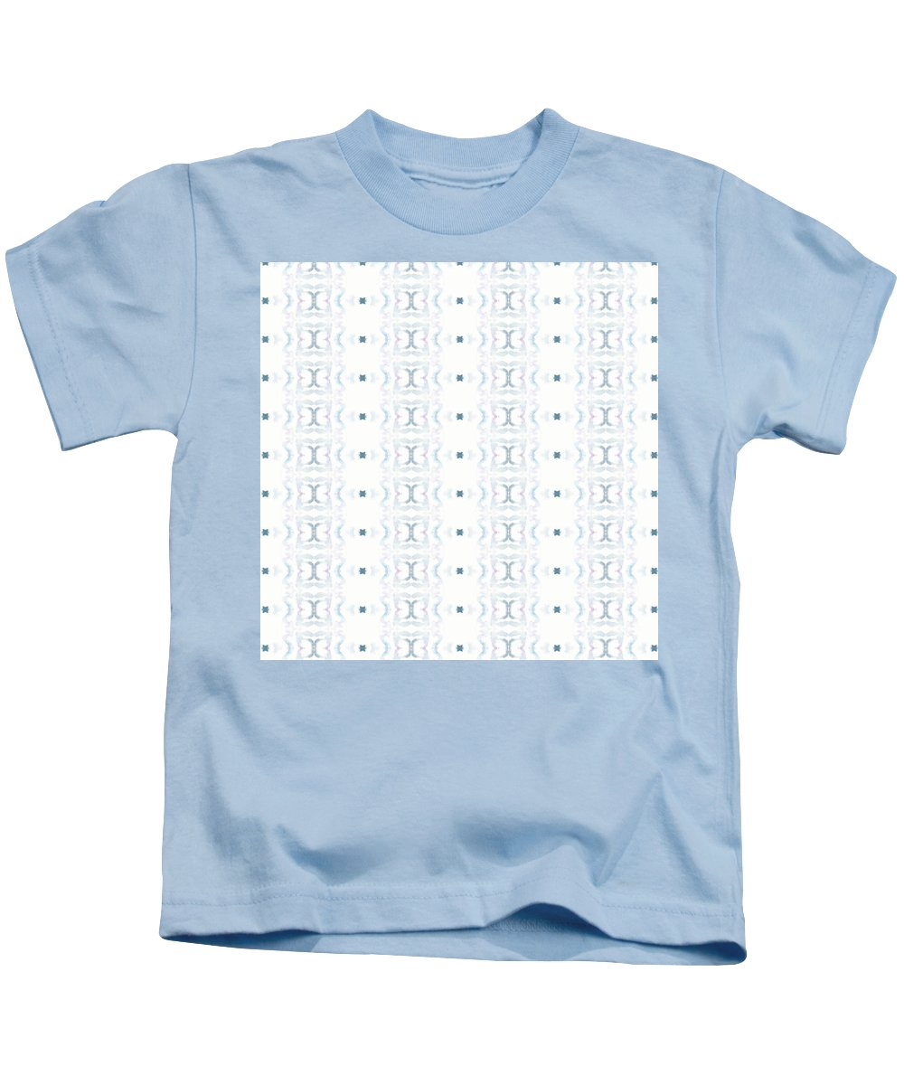 Abstract Kids T-Shirt featuring the painting Moon Lit Path by Olivia Meadows
