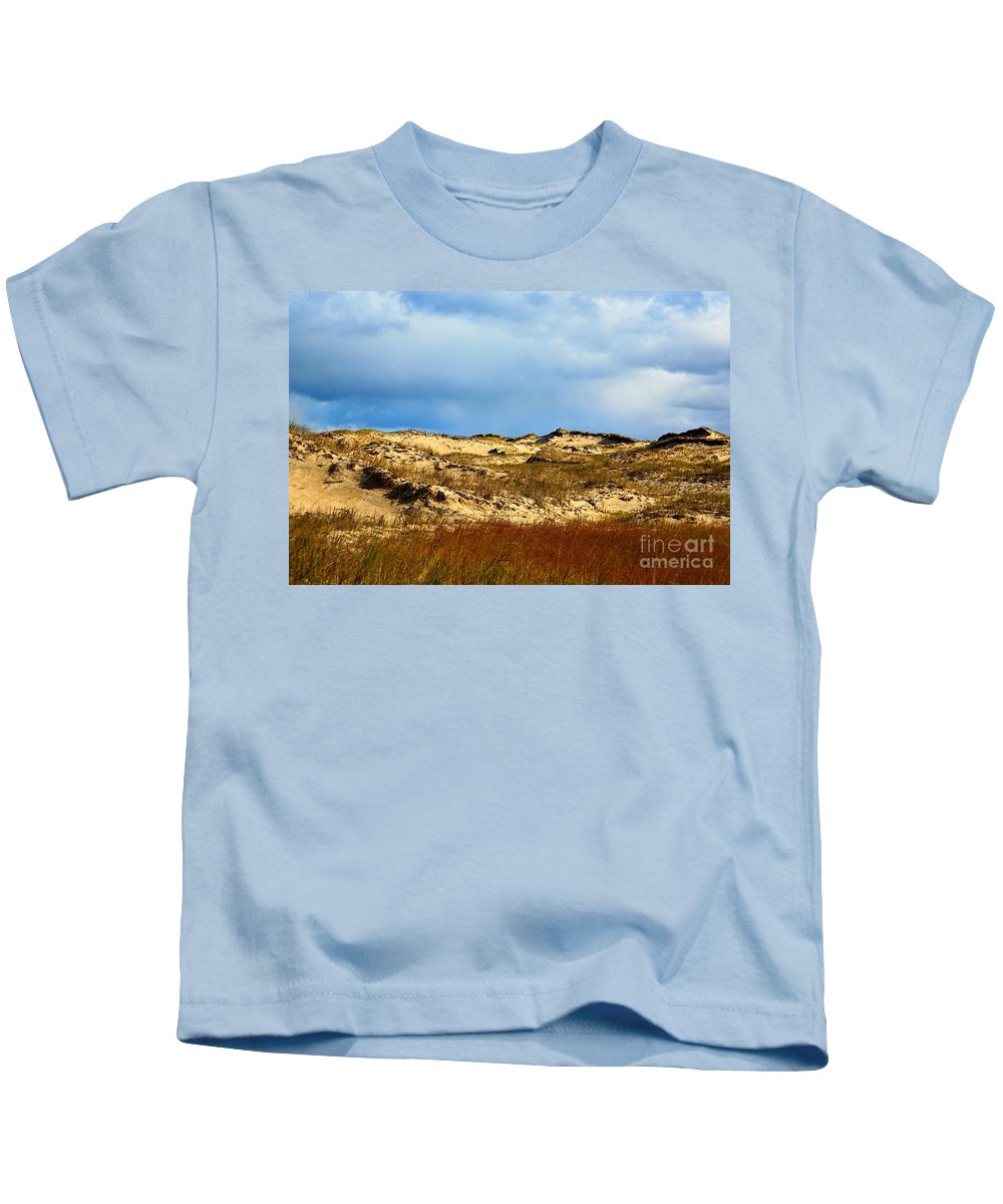 Sun Shine Nature Kids T-Shirt featuring the photograph Moon Walk by Robert Pearson