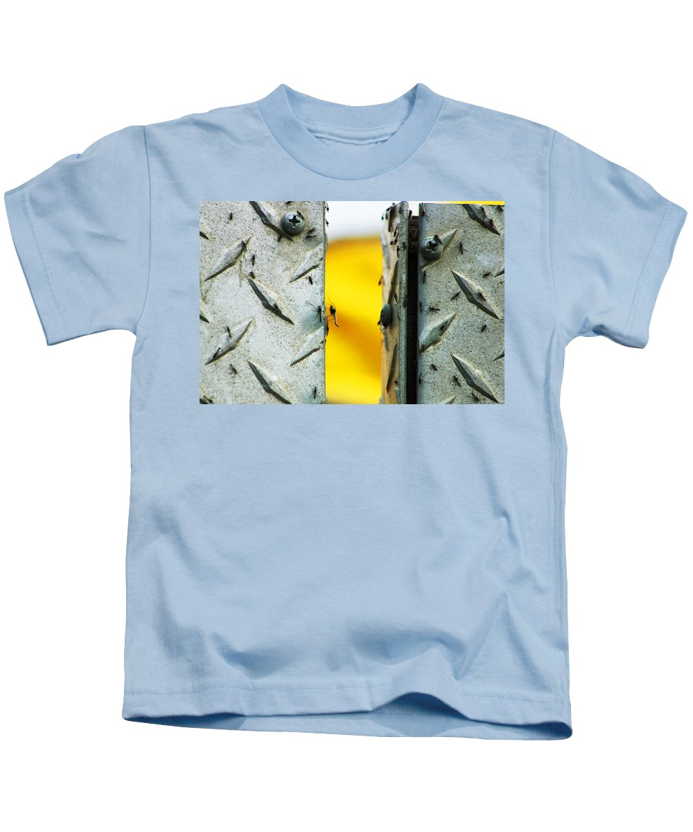 Mosquiros Kids T-Shirt featuring the photograph Mosquitos by Anthony Jones