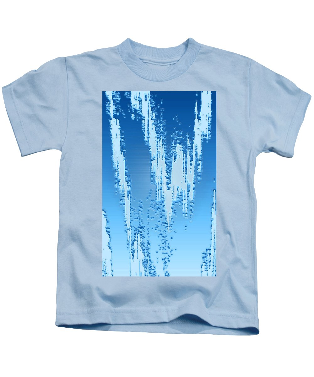 Moveonart! Digital Gallery Kids T-Shirt featuring the digital art Moveonart Dream Research Two by Jacob Kanduch