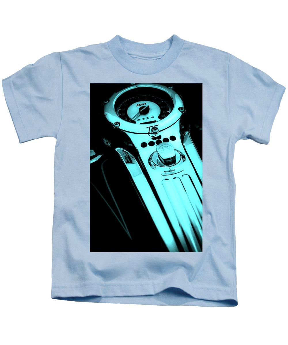 Mph Blue Kids T-Shirt featuring the photograph Mph Blue 5485 G_5 by Steven Ward
