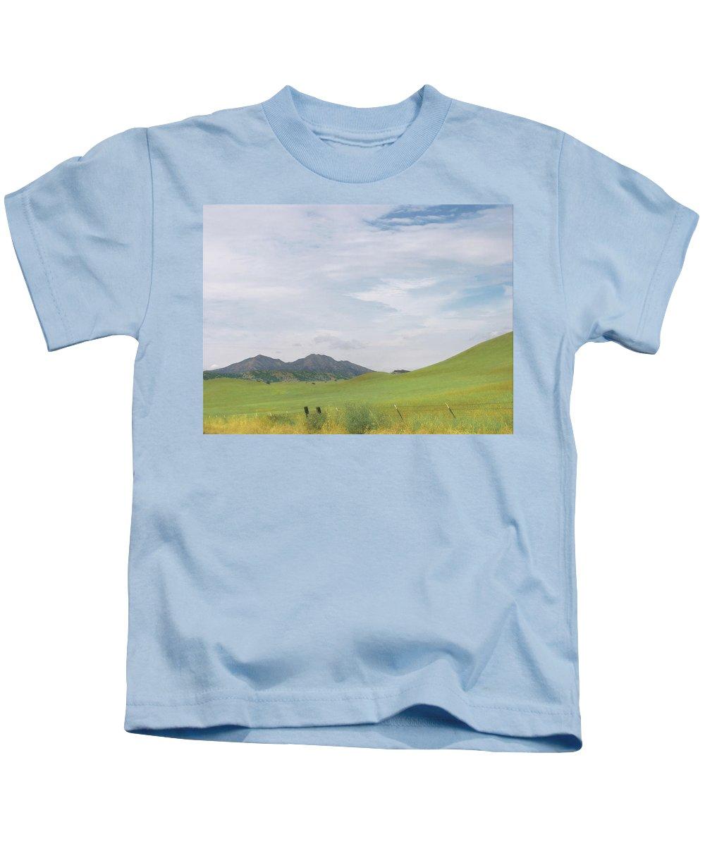 Landscape Kids T-Shirt featuring the photograph Mt. Diablo Mcr 1 by Karen W Meyer