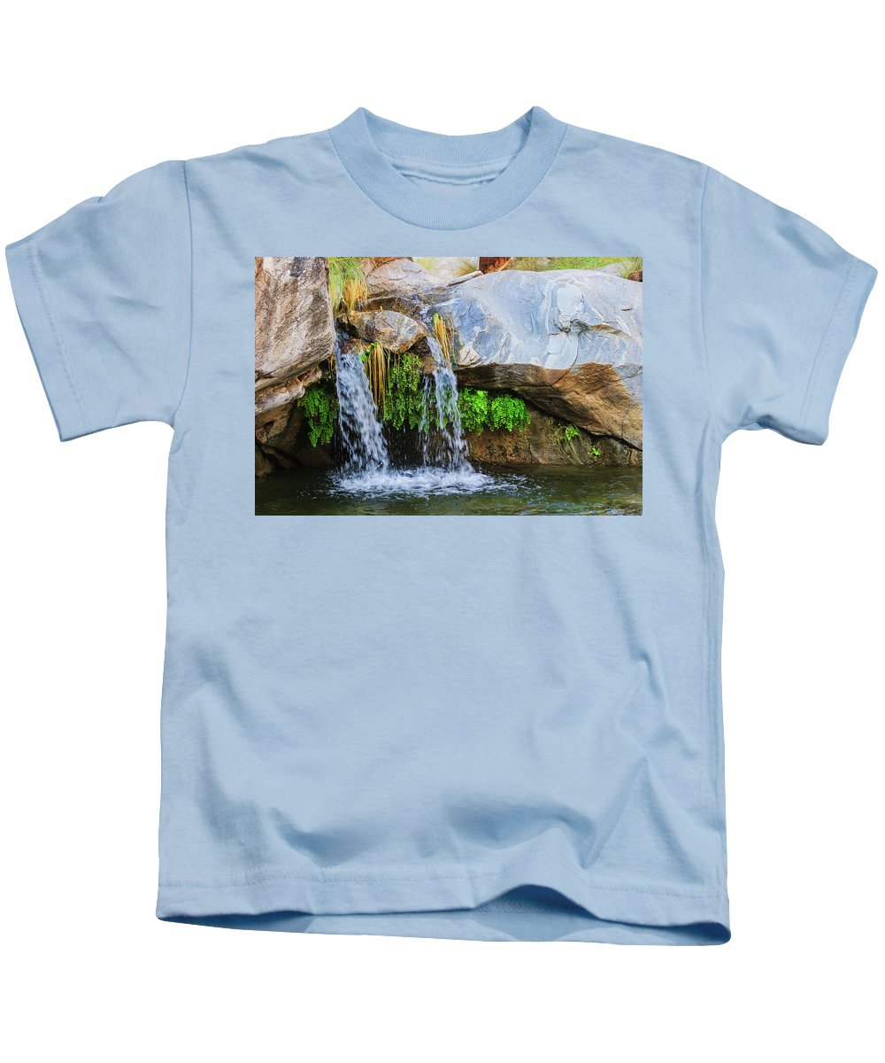 Waterfall Kids T-Shirt featuring the photograph Murray Canon Tranquility II by Scott Campbell